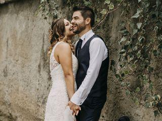 Le nozze di Vanessa e Andrea