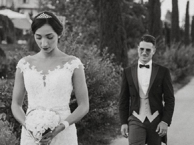 le nozze di Roberta e Giancarlo