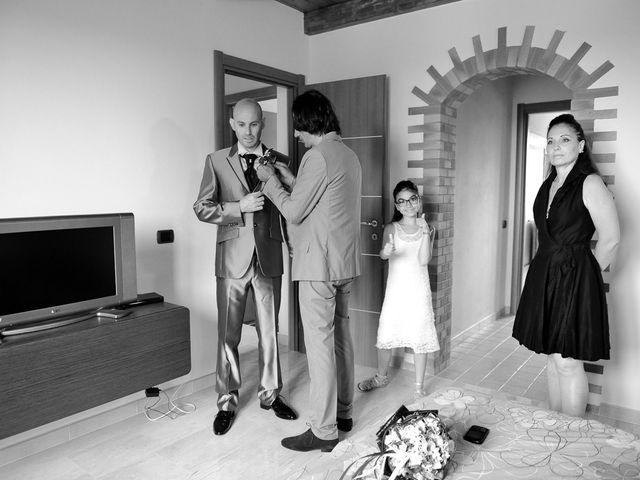 Il matrimonio di Piergiorgio e Alessandra a Villanovaforru, Cagliari 5