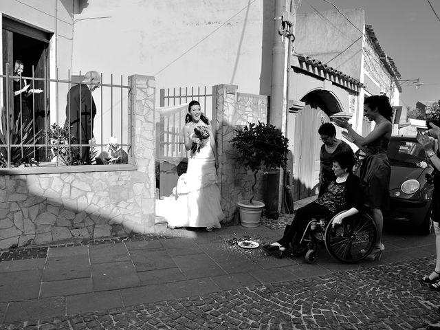 Il matrimonio di Piergiorgio e Alessandra a Villanovaforru, Cagliari 23