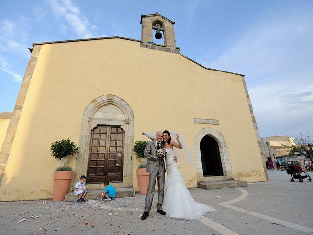 Il matrimonio di Piergiorgio e Alessandra a Villanovaforru, Cagliari 37