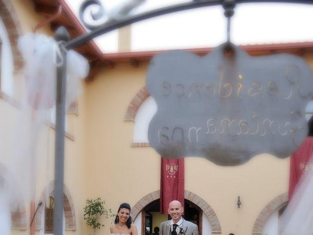 Il matrimonio di Piergiorgio e Alessandra a Villanovaforru, Cagliari 41