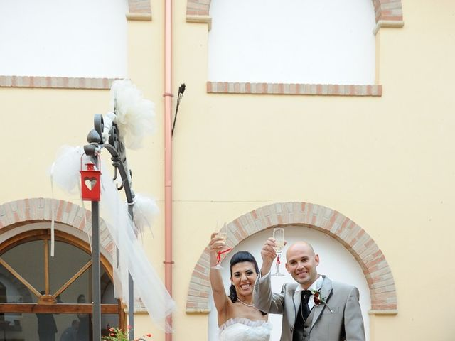 Il matrimonio di Piergiorgio e Alessandra a Villanovaforru, Cagliari 42
