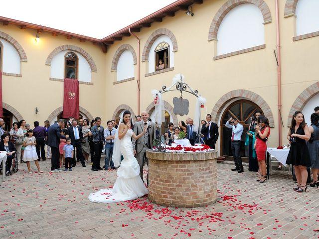 Il matrimonio di Piergiorgio e Alessandra a Villanovaforru, Cagliari 43