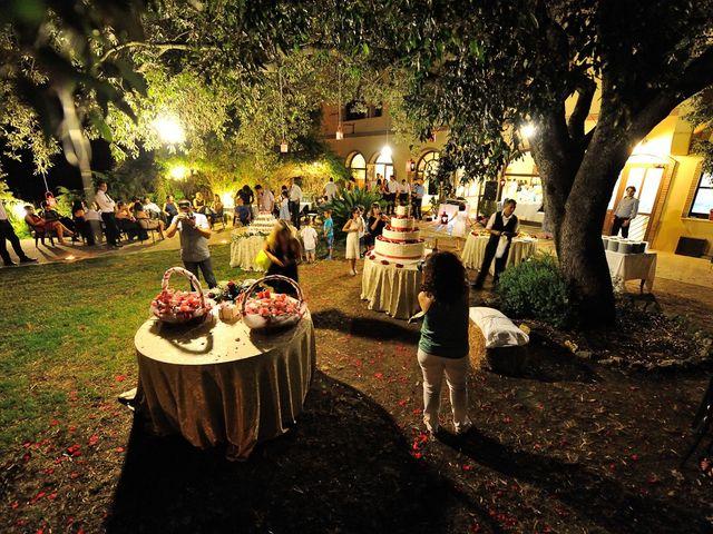 Il matrimonio di Piergiorgio e Alessandra a Villanovaforru, Cagliari 60