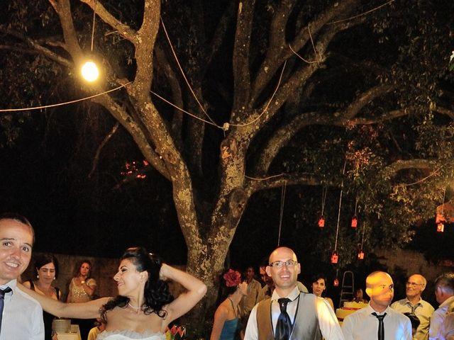 Il matrimonio di Piergiorgio e Alessandra a Villanovaforru, Cagliari 65