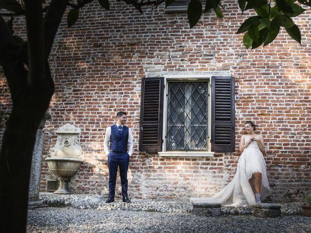 Le nozze di Leslie e Giorgio