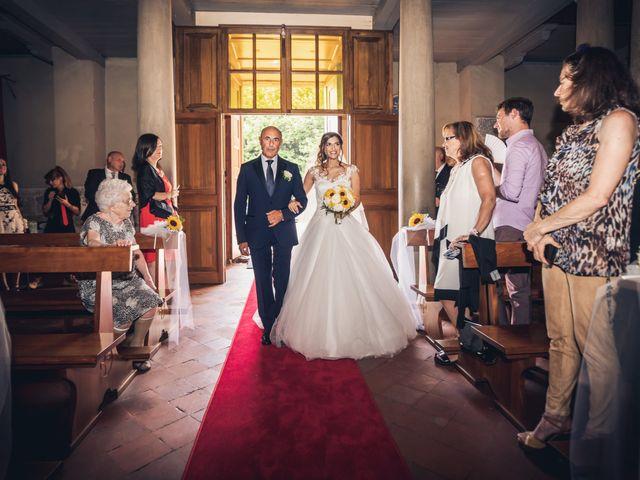 Il matrimonio di Elisa e Jonathan a Palaia, Pisa 12