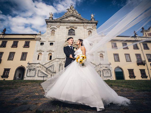 Il matrimonio di Elisa e Jonathan a Palaia, Pisa 18