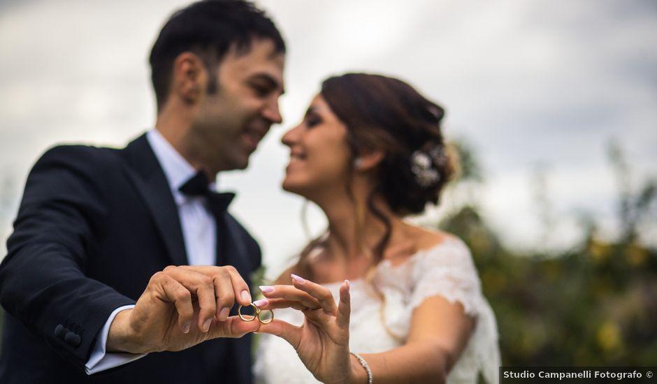 Il matrimonio di Anselmo e Marcella a Offida, Ascoli Piceno