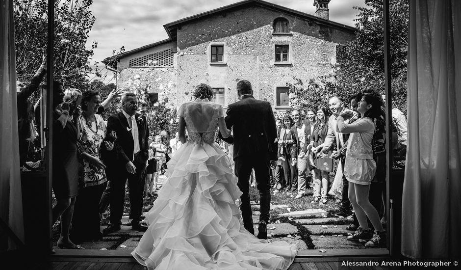 Il matrimonio di Agostino e Giuliana a Varese, Varese