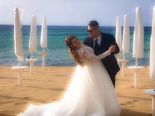 Le nozze di Tony e Jessica