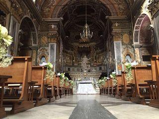 le nozze di Alessandra e Charles 1