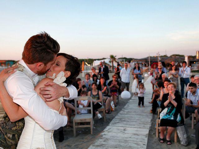 Il matrimonio di Francesco e Elisa a Maccarese, Roma 9