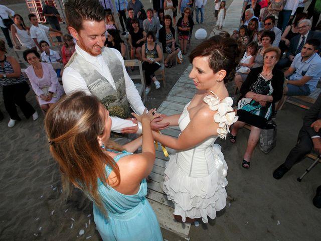 Il matrimonio di Francesco e Elisa a Maccarese, Roma 11