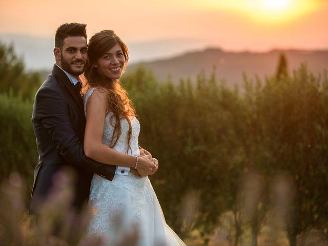 le nozze di Chiara e Giuseppe