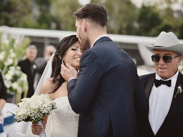 le nozze di Giusy e Ivano