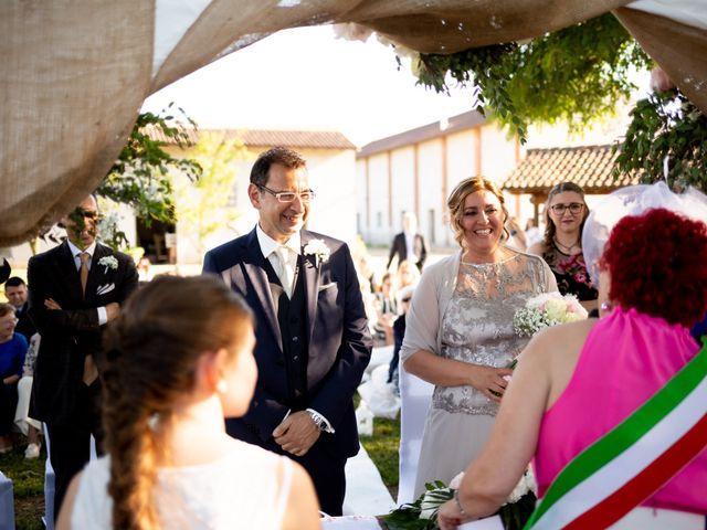 Il matrimonio di Raffaele e Monica a Cassolnovo, Pavia 45