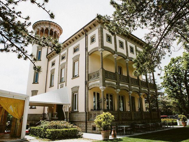 Il matrimonio di Marco e Bayda a Montecopiolo, Pesaro - Urbino 18