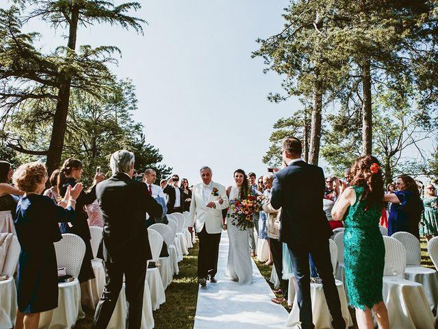 Il matrimonio di Marco e Bayda a Montecopiolo, Pesaro - Urbino 61