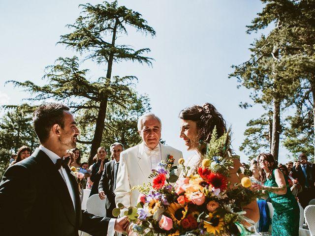 Il matrimonio di Marco e Bayda a Montecopiolo, Pesaro - Urbino 64