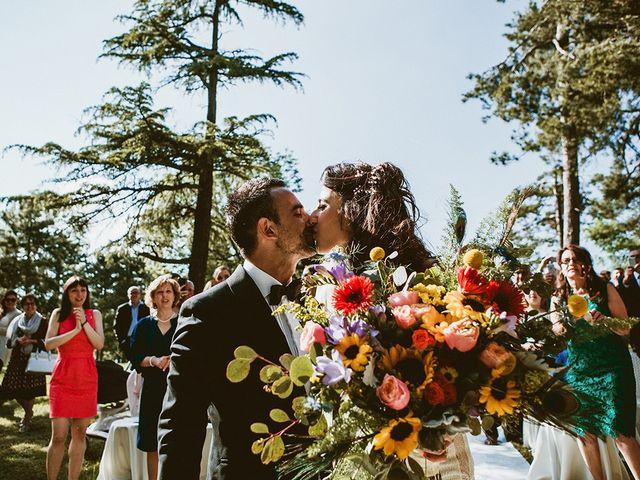 Il matrimonio di Marco e Bayda a Montecopiolo, Pesaro - Urbino 65