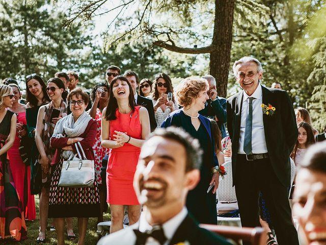 Il matrimonio di Marco e Bayda a Montecopiolo, Pesaro - Urbino 70