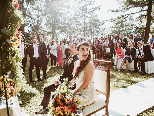 Il matrimonio di Marco e Bayda a Montecopiolo, Pesaro - Urbino 71