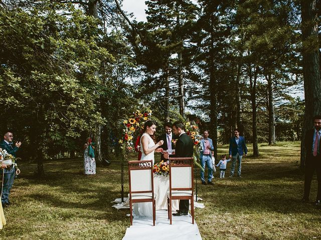 Il matrimonio di Marco e Bayda a Montecopiolo, Pesaro - Urbino 74