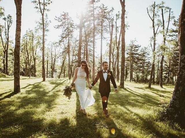 Il matrimonio di Marco e Bayda a Montecopiolo, Pesaro - Urbino 92