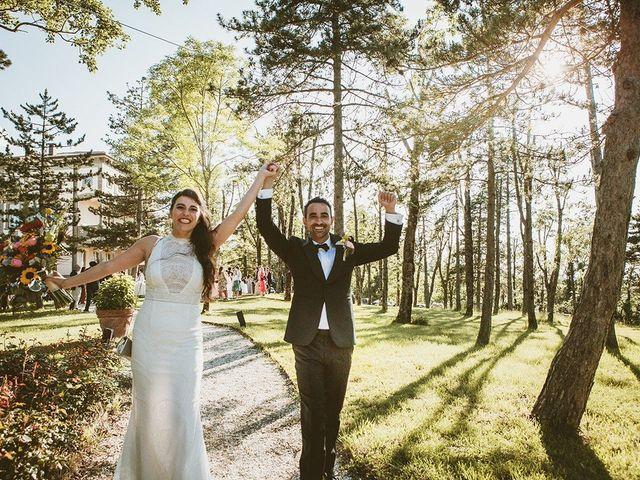 Il matrimonio di Marco e Bayda a Montecopiolo, Pesaro - Urbino 93