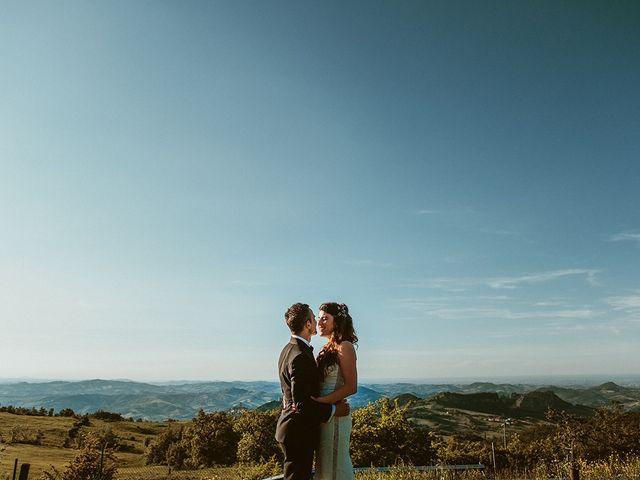 Il matrimonio di Marco e Bayda a Montecopiolo, Pesaro - Urbino 2