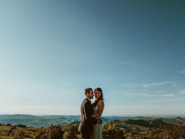 Il matrimonio di Marco e Bayda a Montecopiolo, Pesaro - Urbino 104