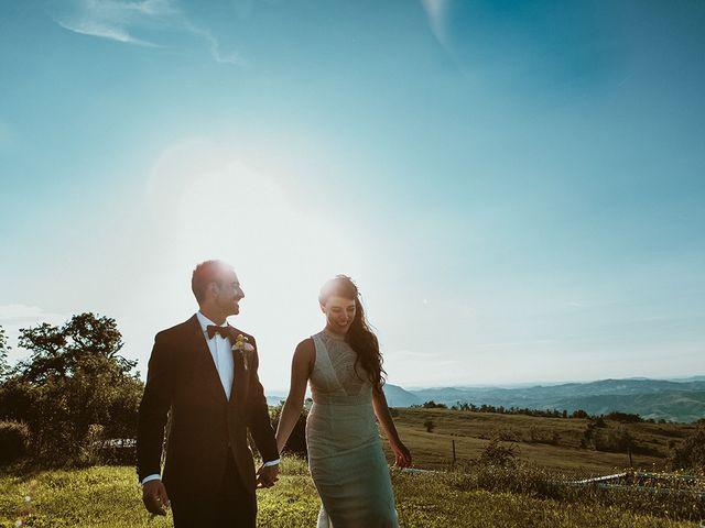 Il matrimonio di Marco e Bayda a Montecopiolo, Pesaro - Urbino 105