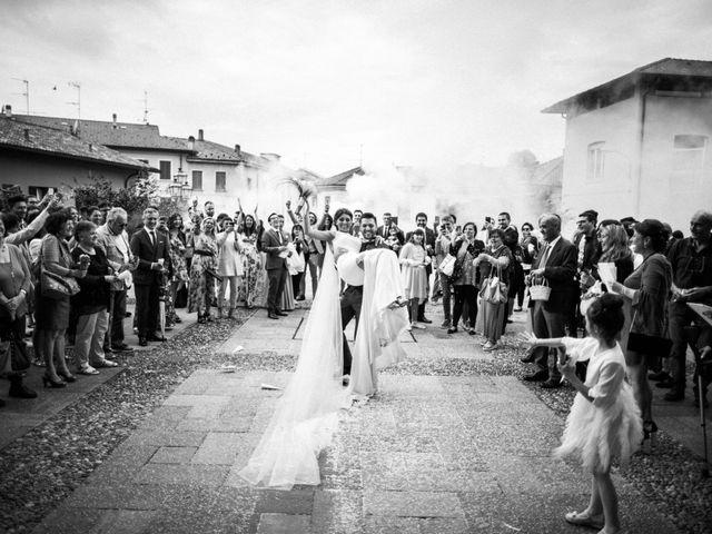Il matrimonio di Riccardo e Sonia a Vimercate, Monza e Brianza 16