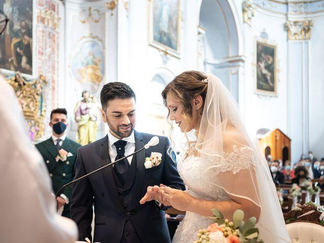 Il matrimonio di Emiliano e Carmela a Gandosso, Bergamo 18