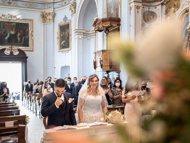 Il matrimonio di Emiliano e Carmela a Gandosso, Bergamo 19