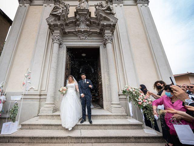 Il matrimonio di Emiliano e Carmela a Gandosso, Bergamo 21