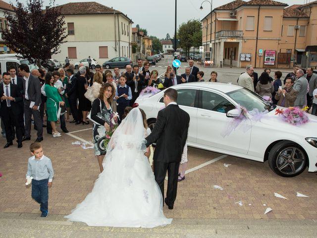Il matrimonio di Fabio e Sonia a Occhiobello, Rovigo 50