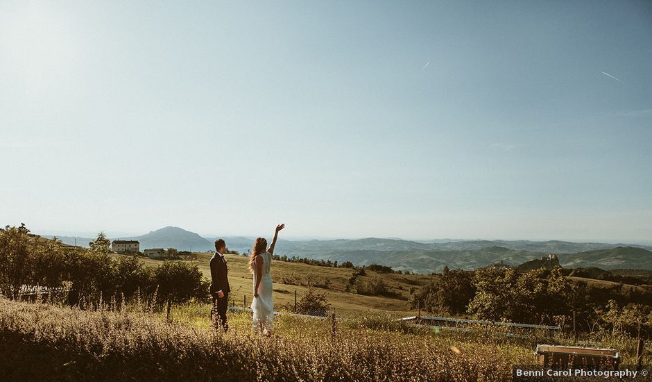 Il matrimonio di Marco e Bayda a Montecopiolo, Pesaro - Urbino