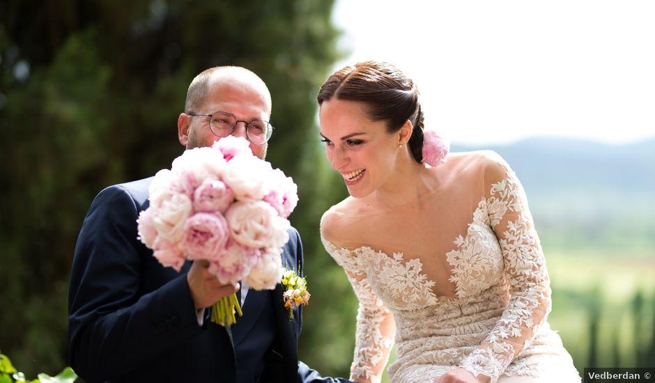 Il matrimonio di Pierpaolo e Elena a Levane , Arezzo