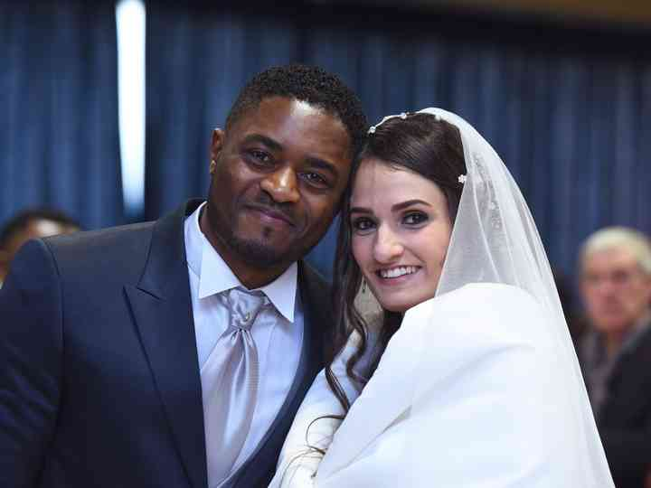 le nozze di Jessica e Martial