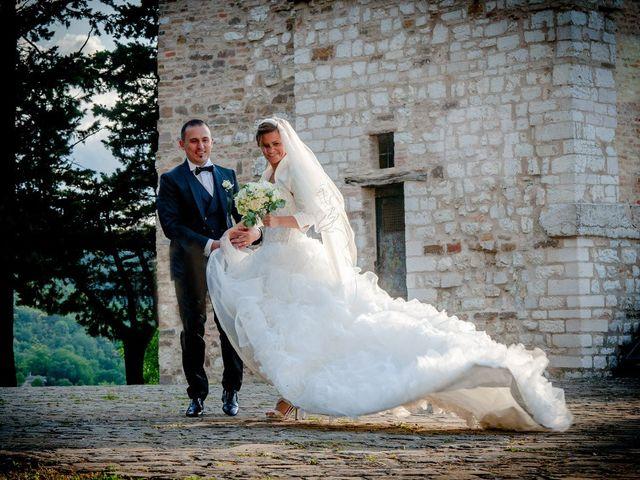 Il matrimonio di David e Martina a San Severino Marche, Macerata 17