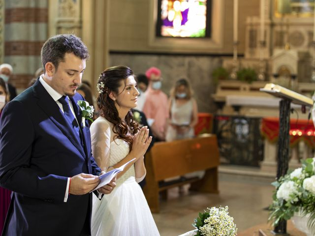Il matrimonio di Filippo e Francesca a Milano, Milano 32