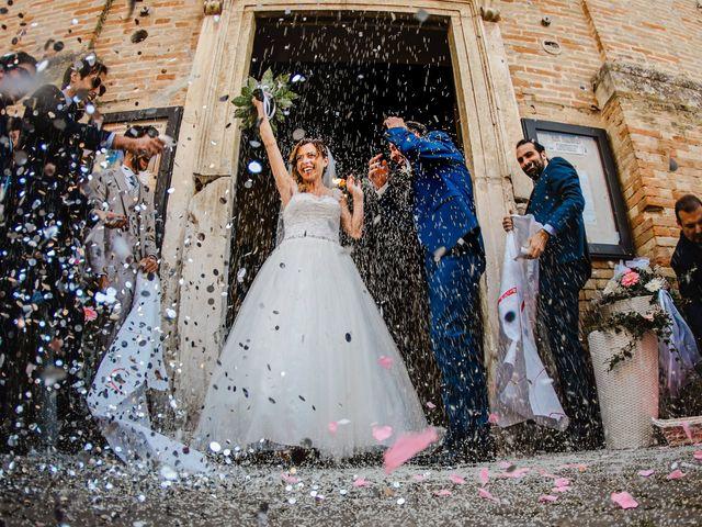 Il matrimonio di Giulia e Luca a Pollenza, Macerata 12