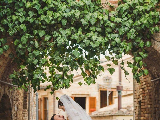 Il matrimonio di Giulia e Luca a Pollenza, Macerata 23
