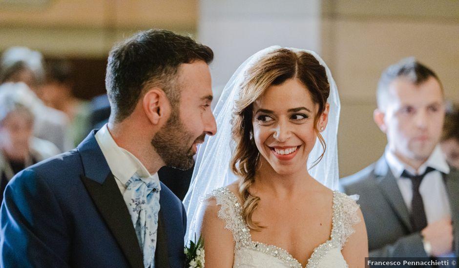 Il matrimonio di Giulia e Luca a Pollenza, Macerata