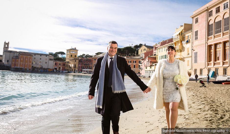 Matrimonio Spiaggia Sestri Levante : Il matrimonio di paolo e michela a sestri levante genova