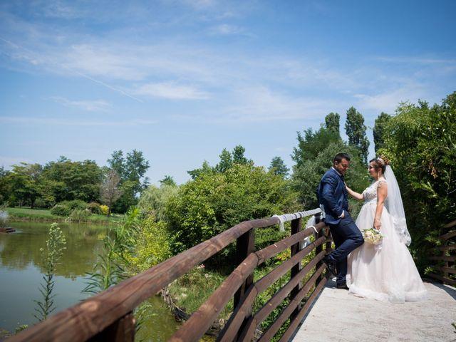 Il matrimonio di Junior e Tanya a Binasco, Milano 21