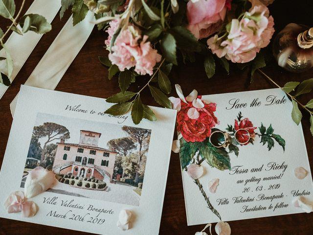 Il matrimonio di Ricky e Tessa a Castiglione del Lago, Perugia 9